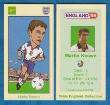 England Martin Keown Arsenal (BP)